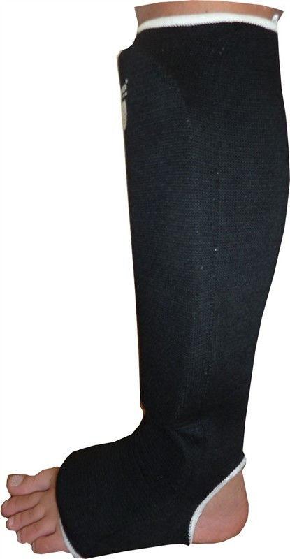фото Защита голеностопа Power System Elastic Shin Pad PS-6006 XL, Черный видео отзывы