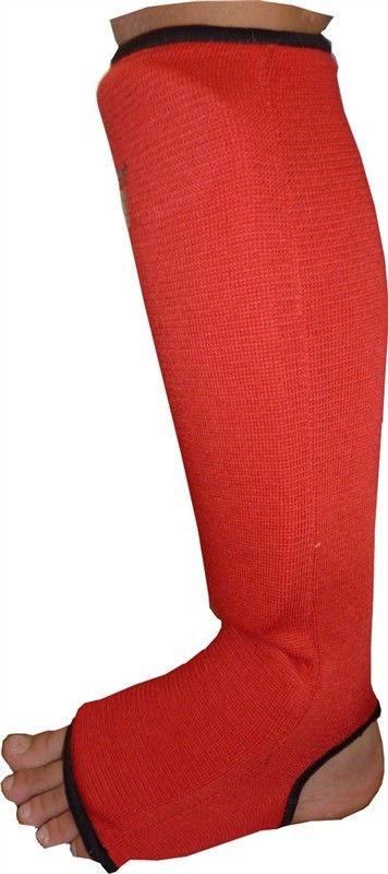 фото Защита голеностопа Power System Elastic Shin Pad PS-6006 XL, Красный видео отзывы