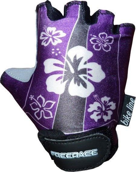 фото Велоперчатки детские Lisa FC - 1006 Фиолетовый видео отзывы