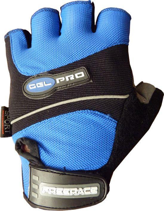фото Велоперчатки Gel Pro FC - 1320 L, Синий видео отзывы
