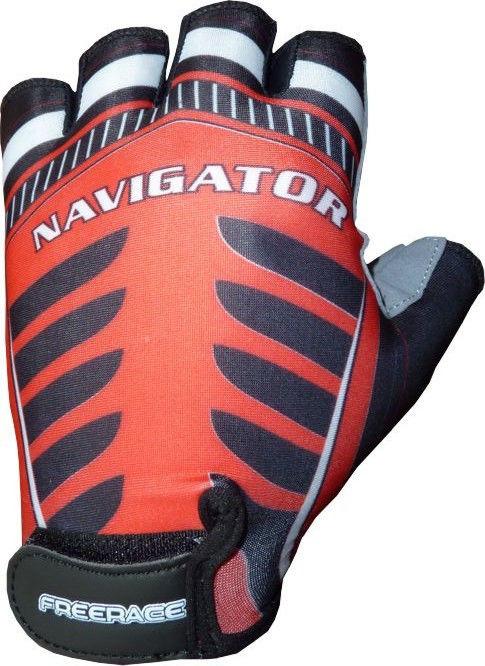 фото Велоперчатки Navigator FR - 1007 XL, Красный видео отзывы