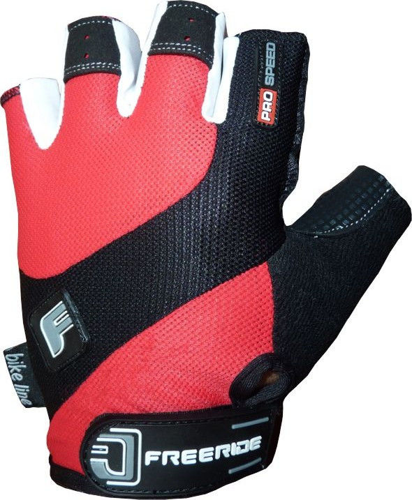 фото Велоперчатки Pro Speed FR - 1202 2XL, Красный видео отзывы