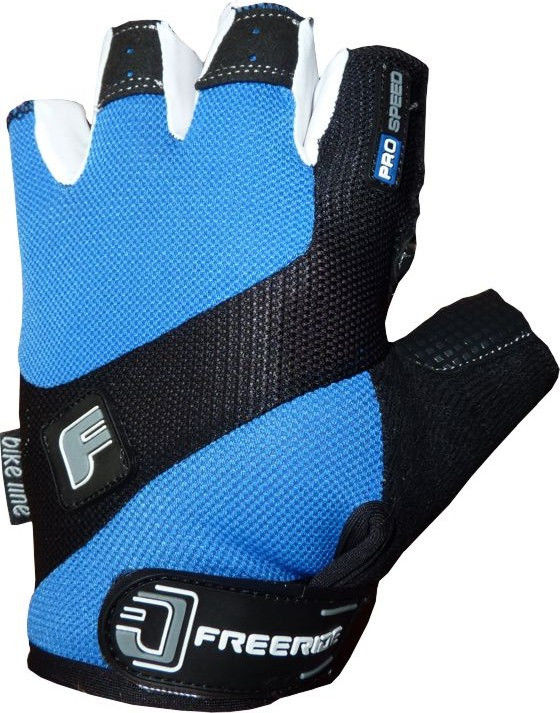 фото Велоперчатки Pro Speed FR - 1202 M, Синий видео отзывы