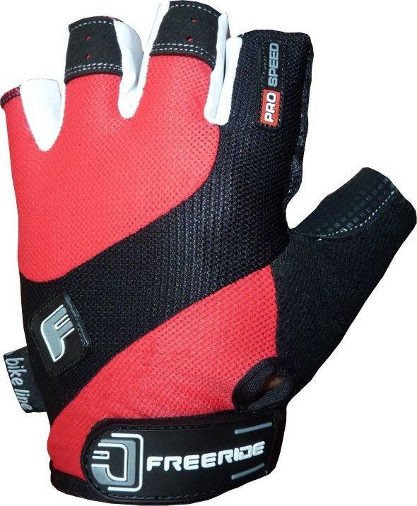 фото Велоперчатки Pro Speed FR - 1202 XS, Красный видео отзывы