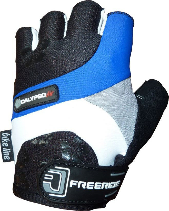 фото Велоперчатки Calypso FR - 1203 M, Синий видео отзывы