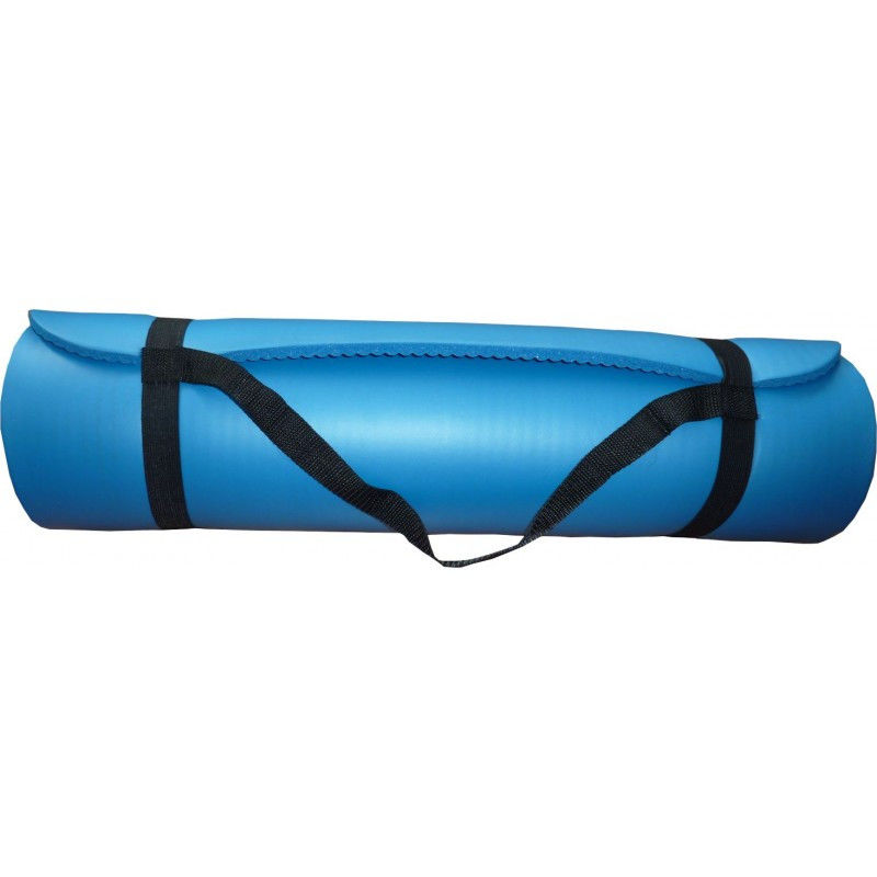 Коврик гимнастический POWER SYSTEM PS - 4017 FITNESS-YOGA MAT Синий фото видео изображение