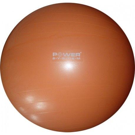 Мяч гимнастический POWER SYSTEM PS - 4012 65cm 65cm Оранжевый фото видео изображение