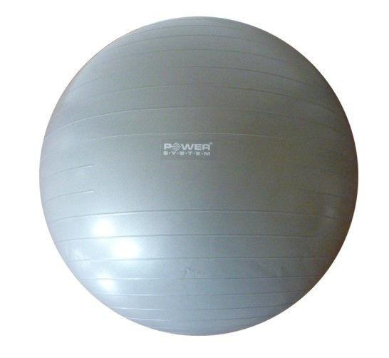 Мяч гимнастический POWER SYSTEM PS - 4018 85cm Серый фото видео изображение