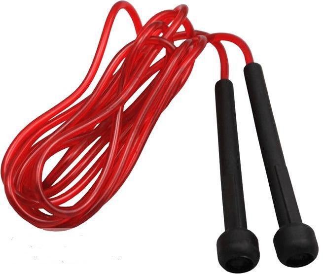 фото Скакалка Power System Skip Rope PS - 4016  Красный видео отзывы