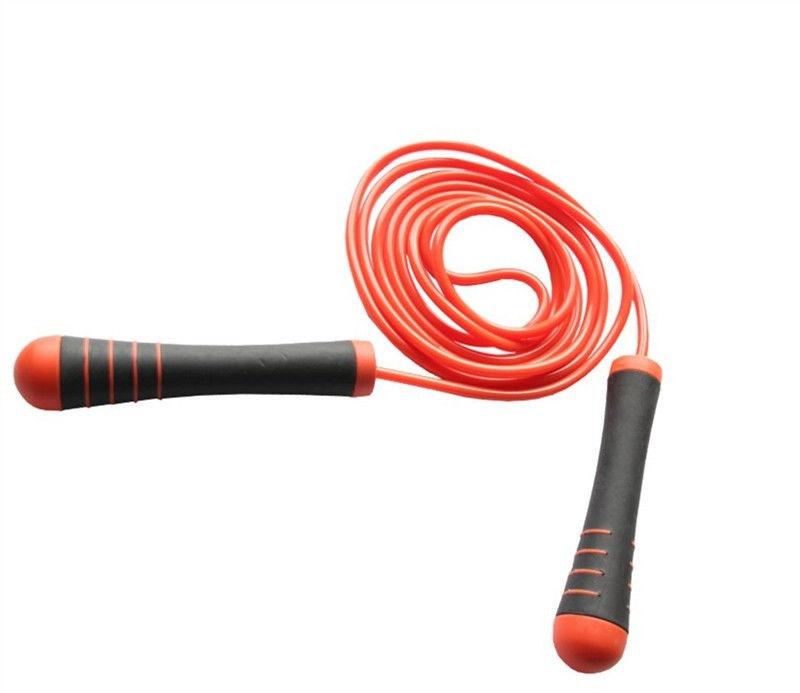 Скакалка Power System Cross Weighted Rope PS - 4031  Оранжевый фото видео изображение