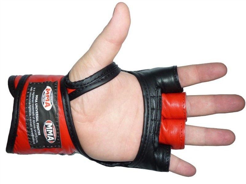 Перчатки Power System Katame MMA-006 XL, Красный фото видео изображение