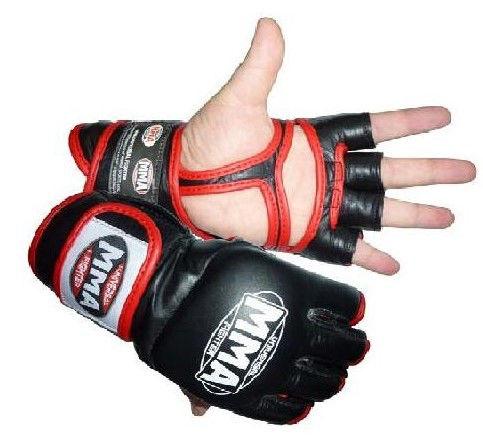 Перчатки Power System Faito MMA-007 M, Красный фото видео изображение