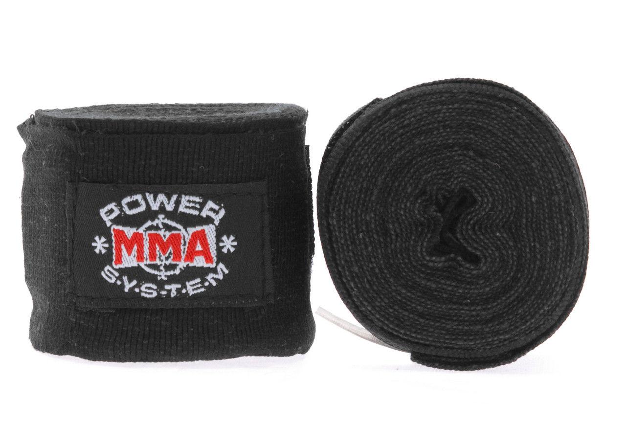 Бинты для бокса Power System PS - 3404 Черный фото видео изображение