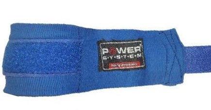 Бинты для бокса Power System PS - 3404 Синий фото видео изображение