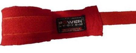 Бинты для бокса Power System PS - 3404 Красный фото видео изображение