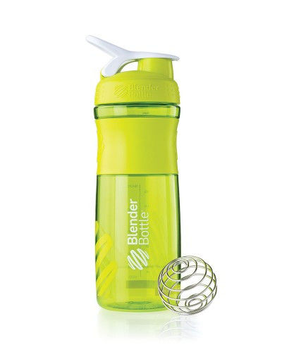 Шейкер спортивный BlenderBottle SportMixer 820ml (ORIGINAL) Green фото видео изображение