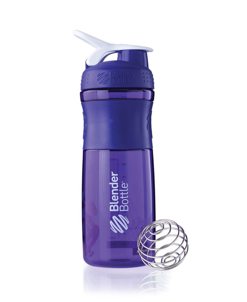 Шейкер спортивный BlenderBottle SportMixer 820ml (ORIGINAL) Purple фото видео изображение