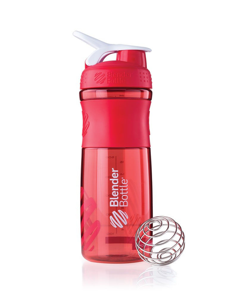 Цена Шейкер спортивный BlenderBottle SportMixer 820ml (ORIGINAL) Red