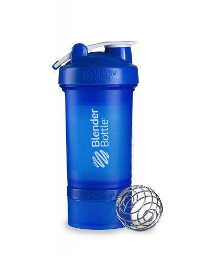 Шейкер спортивный BlenderBottle ProStak 650ml (ORIGINAL) Blue фото видео изображение
