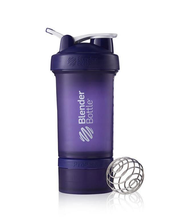 Шейкер спортивный BlenderBottle ProStak 650ml (ORIGINAL) Purple фото видео изображение