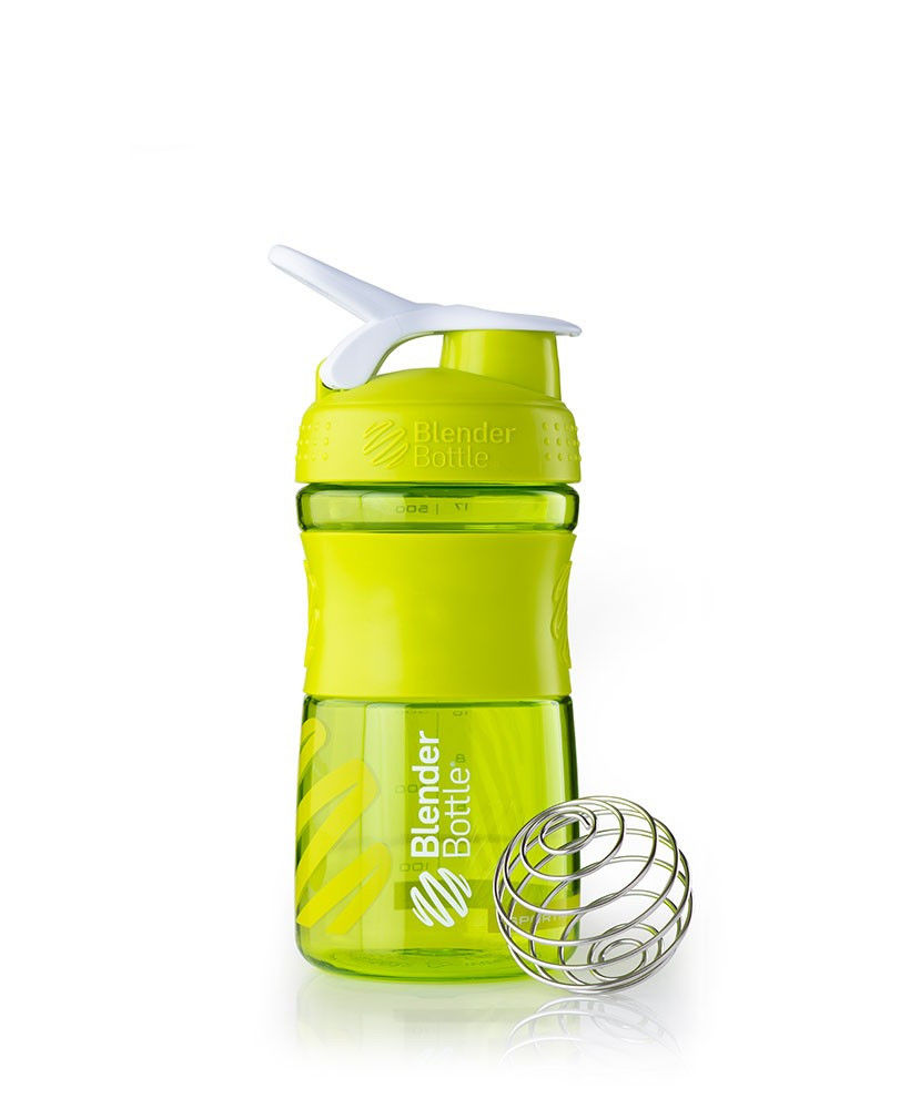 Шейкер спортивный BlenderBottle SportMixer 590ml (ORIGINAL) Green фото видео изображение