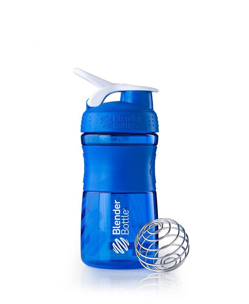 Шейкер спортивный BlenderBottle SportMixer 590ml (ORIGINAL) Blue фото видео изображение