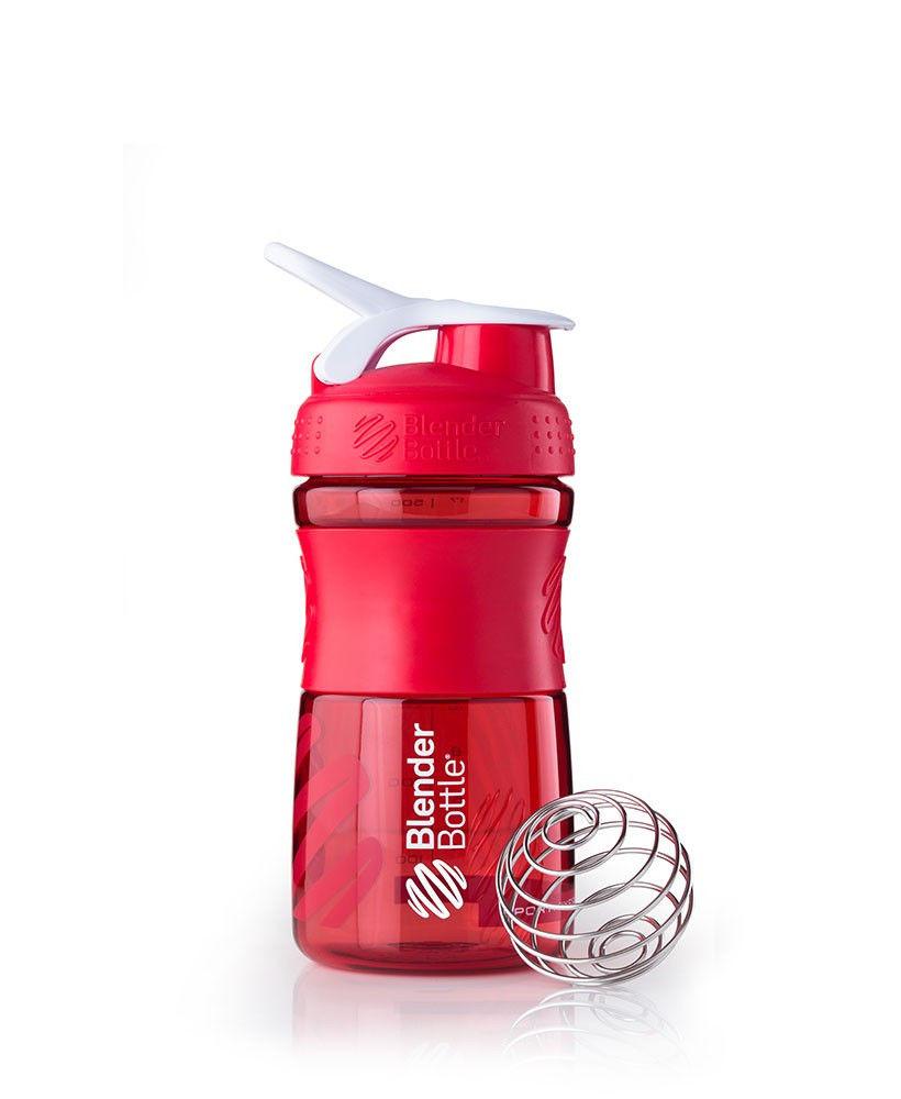 Шейкер спортивный BlenderBottle SportMixer 590ml (ORIGINAL) Red фото видео изображение