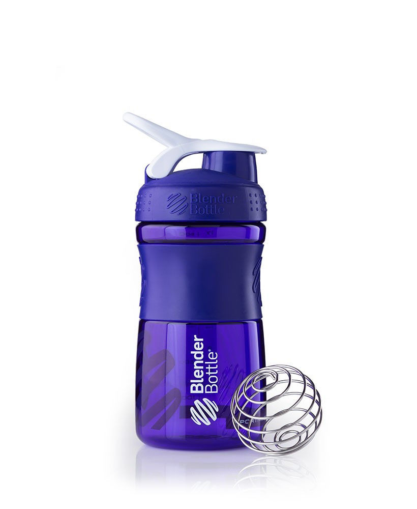 Шейкер спортивный BlenderBottle SportMixer 590ml (ORIGINAL) Purple фото видео изображение
