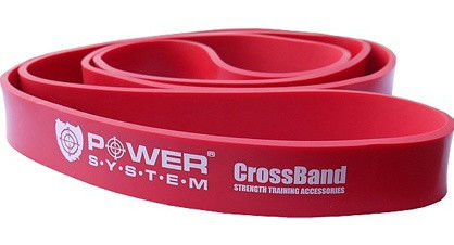 Резина для тренировок CrossFit Level 3 Red PS - 4053 фото видео изображение