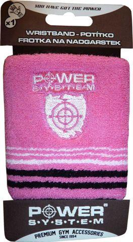 фото Напульсник Power System Wrist Band PS 4000 Розовый видео отзывы