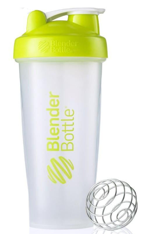 Цена Шейкер спортивный BlenderBottle Classic 820ml (ORIGINAL) Trans-Blue