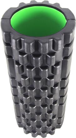 фото Роллер масажный Power System Fitness Foam Roller PS-4050 Черно-зеленый видео отзывы