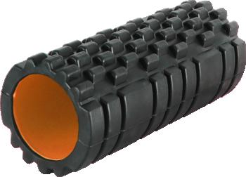 фото Роллер масажный Power System Fitness Foam Roller PS-4050 Черно-оранжевый видео отзывы