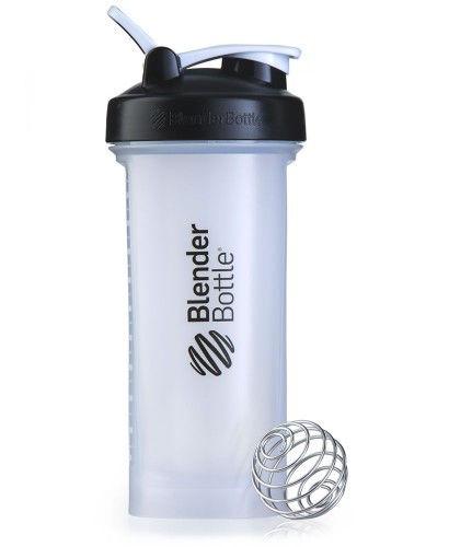 Шейкер спортивный BlenderBottle Pro45 1270ml (ORIGINAL) Black-Clear фото видео изображение