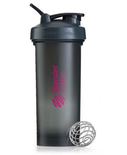 Шейкер спортивный BlenderBottle Pro45 1270ml (ORIGINAL) Grey-Pink фото видео изображение