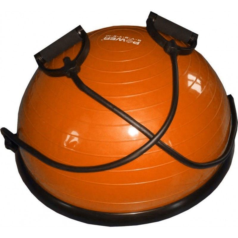 фото Балансировочная платформа PS - 4023 BALANCE BALL SET  Оранжевый видео отзывы