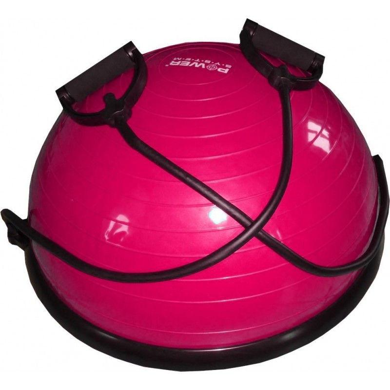 фото Балансировочная платформа PS - 4023 BALANCE BALL SET  Розовый видео отзывы