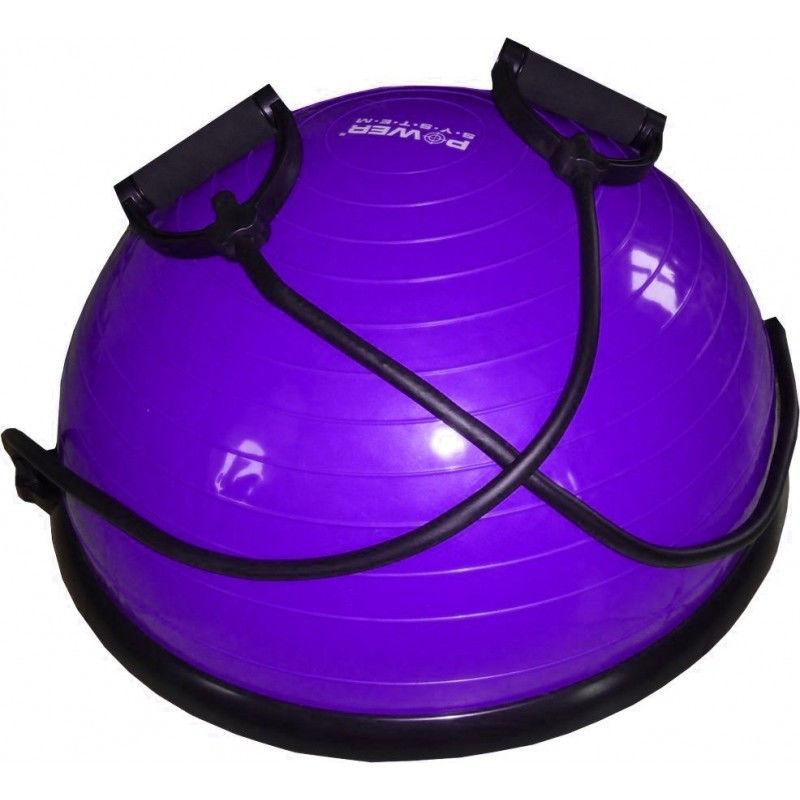 фото Балансировочная платформа PS - 4023 BALANCE BALL SET  Фиолетовый видео отзывы