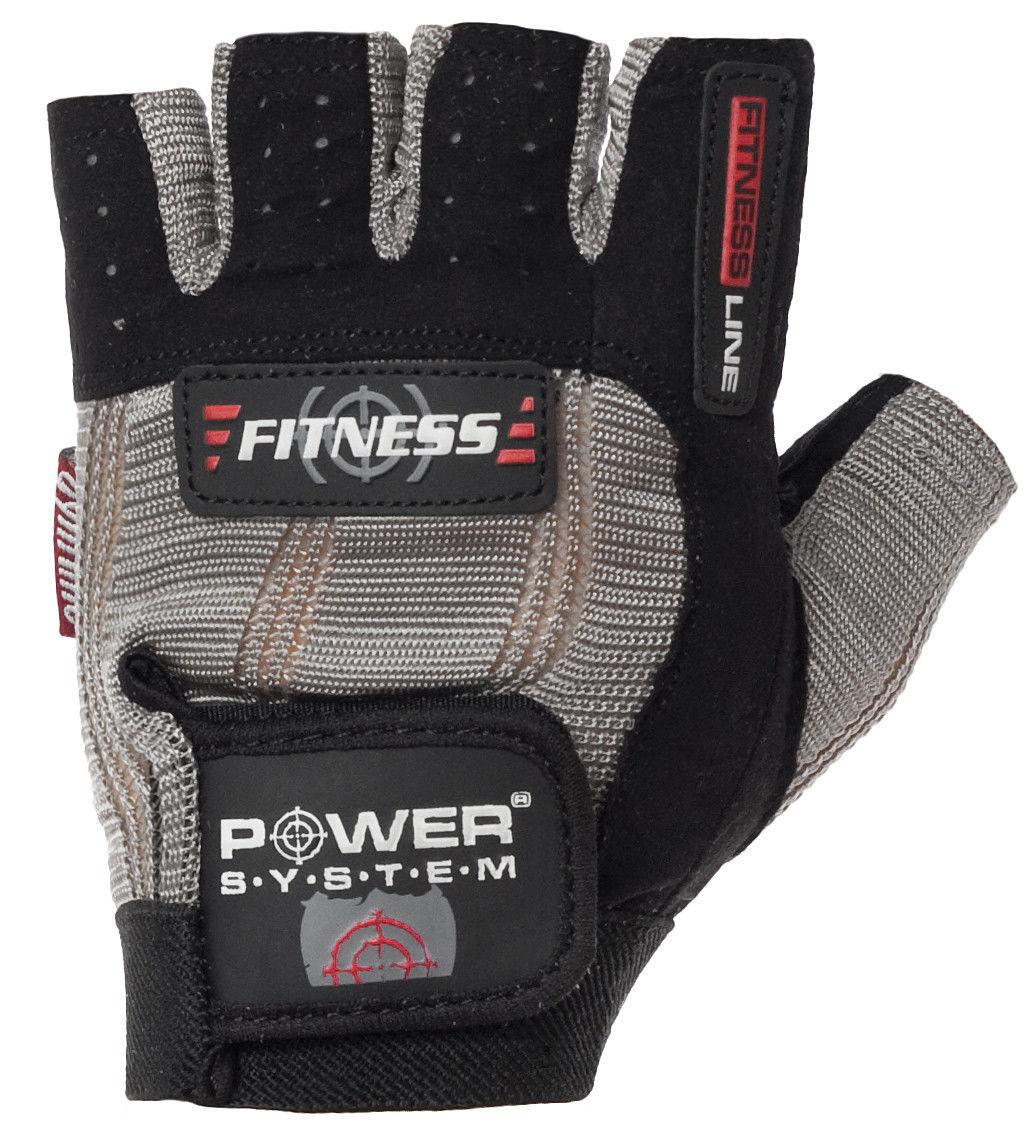Перчатки Power System Fitness PS-2300 XL, Черно-серый фото видео изображение