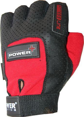 Перчатки Power System Power Plus PS-2500 M, Красный фото видео изображение