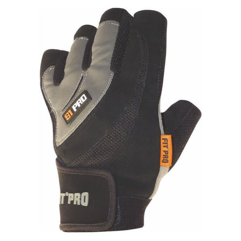 Перчатки для кроссфита Power System FP-03 S1 Pro Черный, XL фото видео изображение