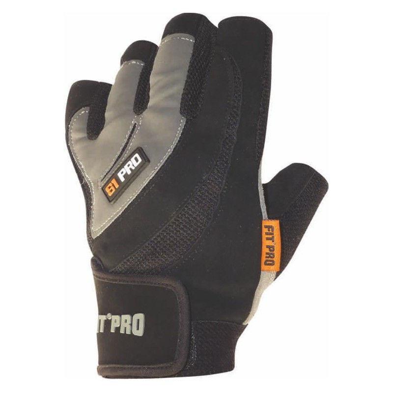 Перчатки для кроссфита Power System FP-03 S1 Pro Черный, XS фото видео изображение