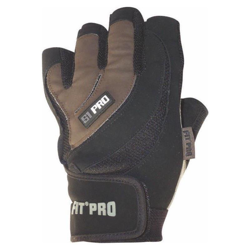 Перчатки для кроссфита Power System FP-03 S1 Pro Черно-коричневый, L фото видео изображение