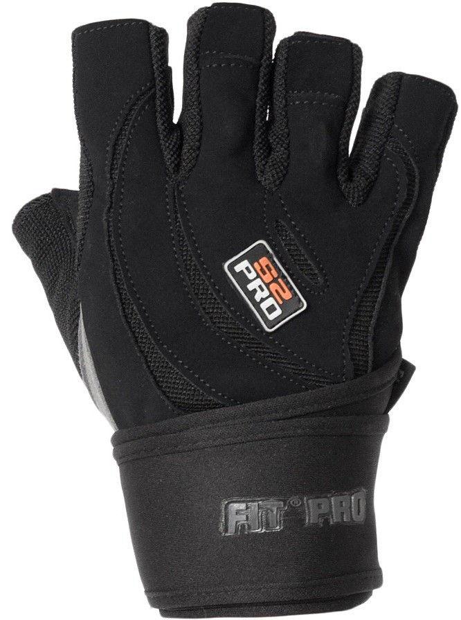 Перчатки для кроссфита Power System FP-04 S2 Pro S, Черный фото видео изображение