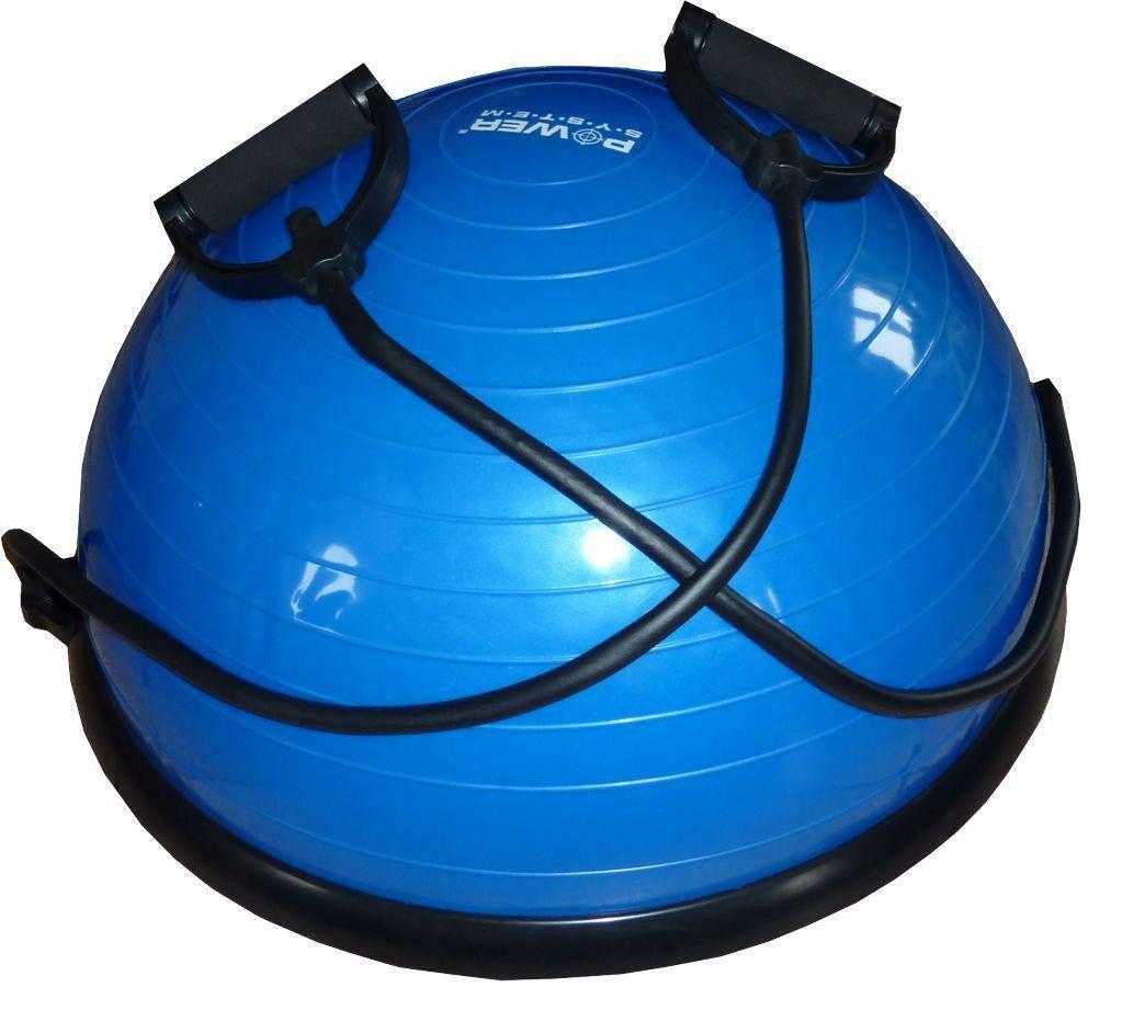 фото Балансировочная платформа PS - 4023 BALANCE BALL SET  Синий видео отзывы