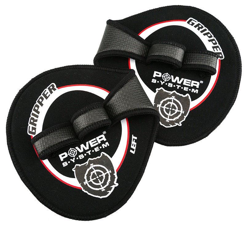 Купить Накладки на ладони Power System Gripper Pads PS - 4035  M, Черный цена