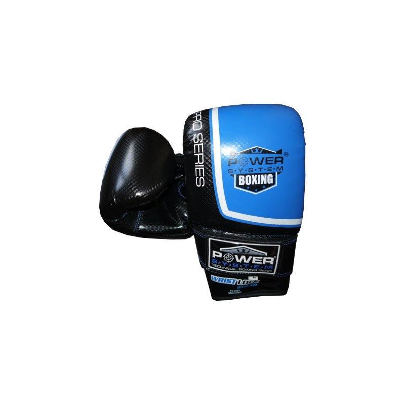Перчатки снарядные Power System PS 5003 Bag Gloves Storm L, Синий фото видео изображение