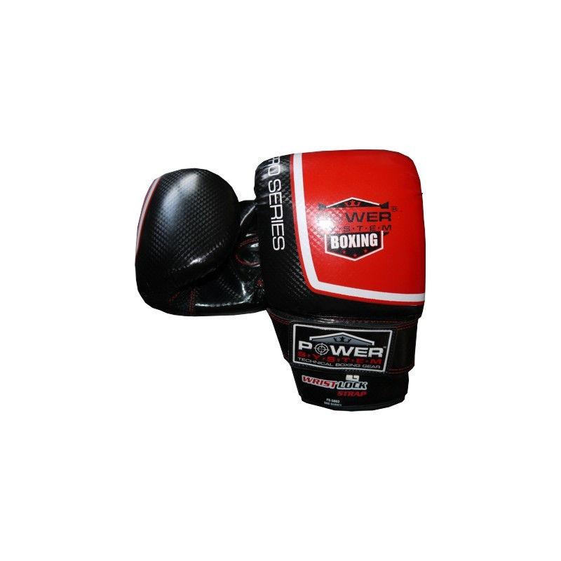 Перчатки снарядные Power System PS 5003 Bag Gloves Storm S, Красный фото видео изображение