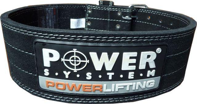Пояс Power System Power Lifting PS - 3800  XL, Черный фото видео изображение