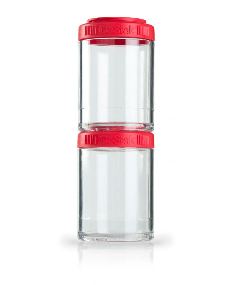 Контейнер спортивный BlenderBottle GoStak 2 Pak (ORIGINAL) Red